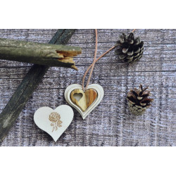Personalized Wooden Heart...